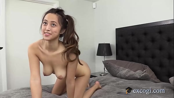 Asian Latina Alexia Anders Grabs Her Pretty Tits While Getting Dicked