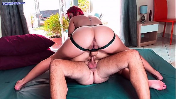 Hot FFM threesome DP with lesbian strapon and real dick. Huge anal creampie Thumb