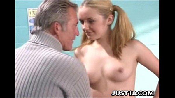 Blonde Teen Slut Pussy Exam Thumb