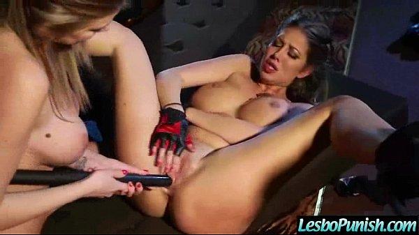 Punish Hardcore Sex Between Lesbians (danielle&lexi) movie-19