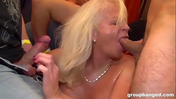 Granny Is a Filthy GangBang Slut Thumb