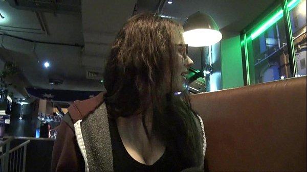 Upskirts toilet trip peeking and secret voyeur masturbation in a public bar Thumb