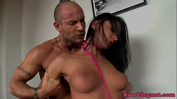 Classy eurobabe loves rough sex after car bj