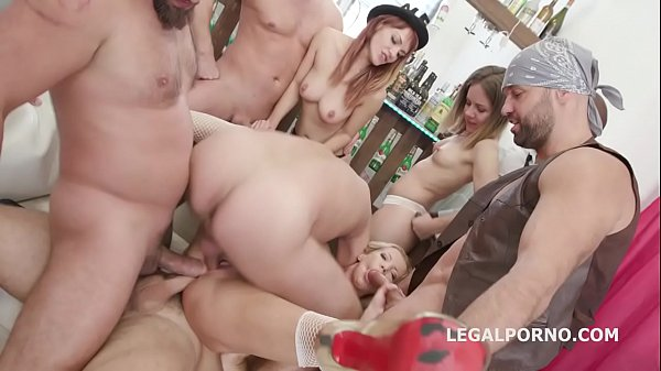 Happy B-day Lara De Santis! anal madness party with squirt cocktail, balls deep anal, DAP, TP & anal fisting Thumb
