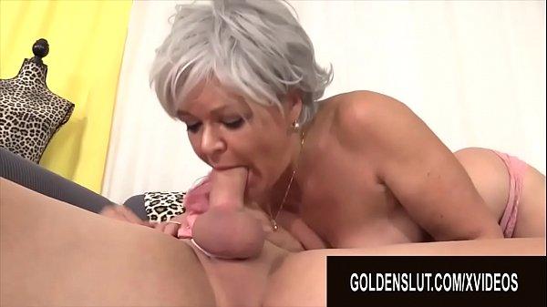 Golden Slut - Older Ladies Show off Their Cock Sucking Skills Compilation 20 Thumb