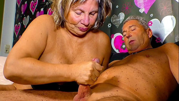 XXX OMAS - Horny German granny needs a hard cock up her mature pussy