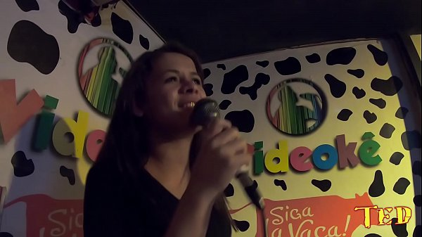 Singing at Karaoke with Friends
