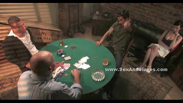 Double penetration poker