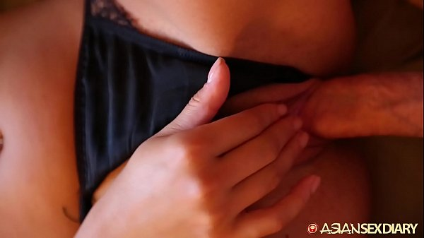 Asian Sex Diary - Hot young Asian babe gets fucked by older white guy