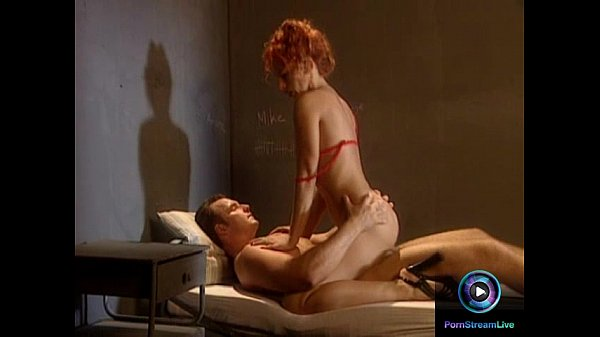 Redhead milf Ruby Elvira in red lingerie loves young hard cocks Thumb