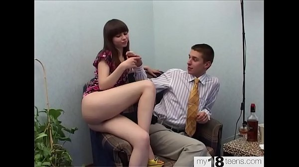 Girl Sucking Cock Lover and Passionate Fuck - C...