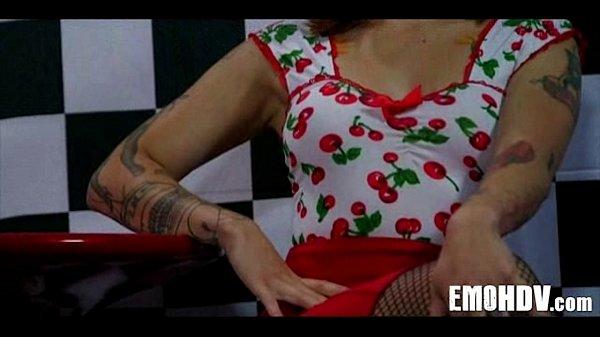 Emo slut with tattoos 0169