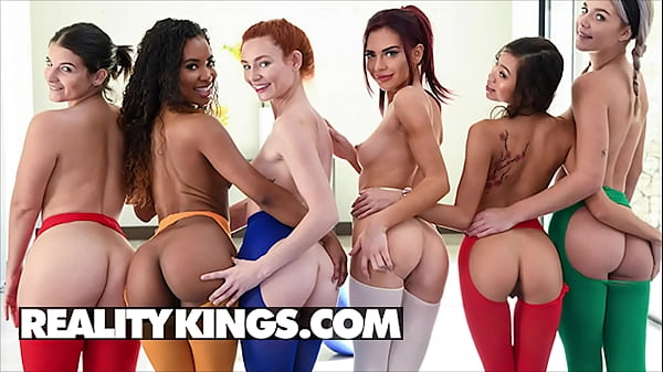 Sexy Orgy With (Demi Sutra, Vina Sky, Sabina Rouge, Lacy Lennon, Gabbie Carter, Lasirena69) - Reality Kings