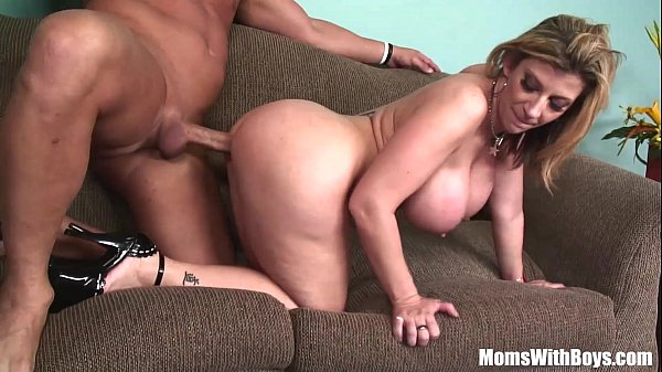MILF Blonde Sarah Jay Soft Massive Tits Fucked Thumb