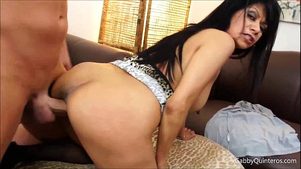 Gabby Quinteros Gets Stuffed with a Big Cock! Thumb