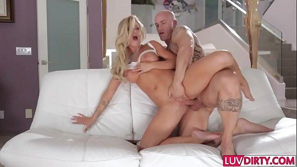 Busty blonde Jessa Rhodes gets rammed