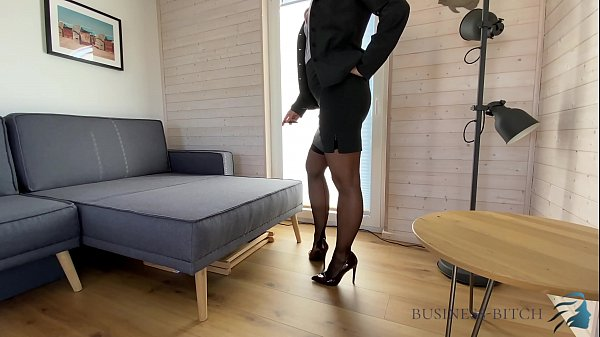 dominant corporate bitch dildo play, Business Bitch Thumb