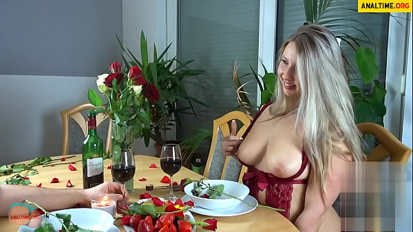 German bbw fucked after a romantic dinner thumbnail