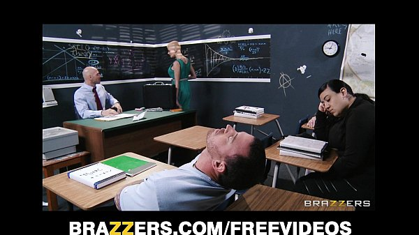 Joslyn James fucks the shit out of her prude math teacher Thumb