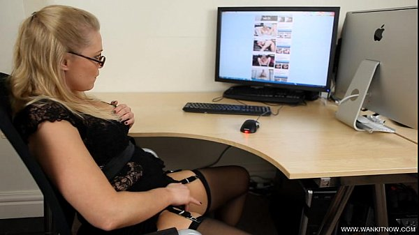 ABIGAIL TOYNE Office Girl Caught SD Thumb