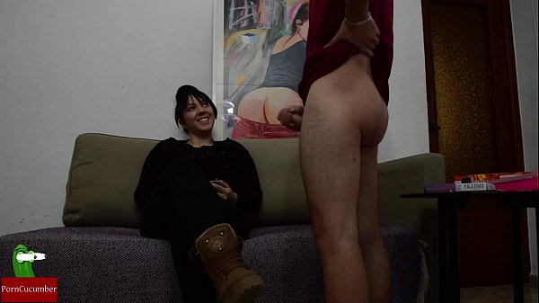 Live video of a cock meal