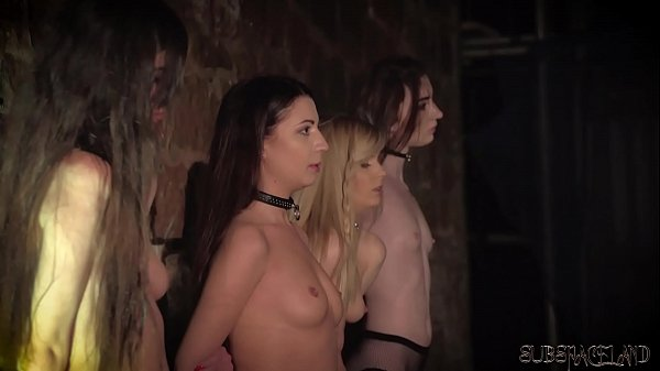 4 slaves punished and humiliated by master he fucks and slaps them Thumb