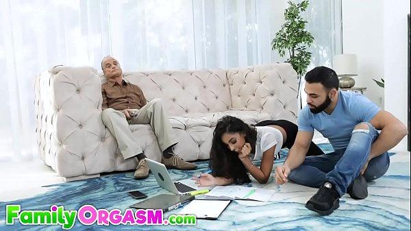 Naughty Slut Fucks her Teacher