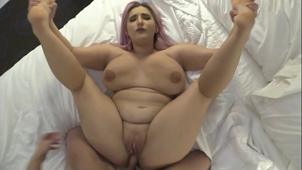 Blackmailing BBW Big Tit Teen Out of Friendzone