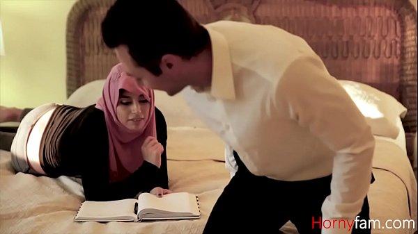 Daughter in hijab fucks DADDY  thumbnail