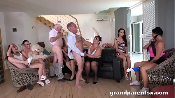 Perverted Grandparents Orgy part 1 Thumb