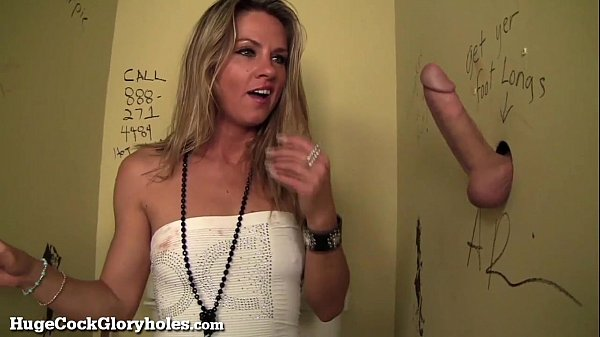 Hot Slut Blows Stranger In Public Bathroom! Thumb