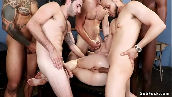 Hairy professor is dp banged by students