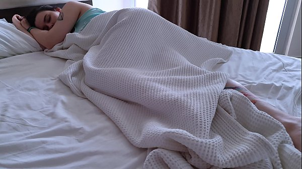 Fucked Sleeping Girl In Hotel Room And Cum On Her Feet