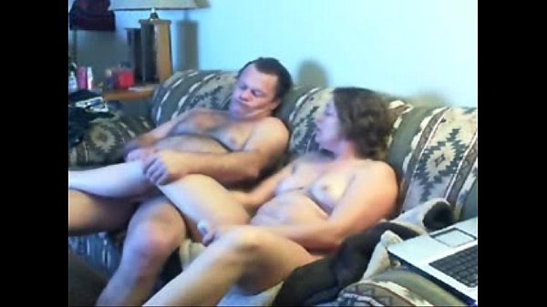 Watch mom and daddy home alone having fun. Hidden cam Thumb