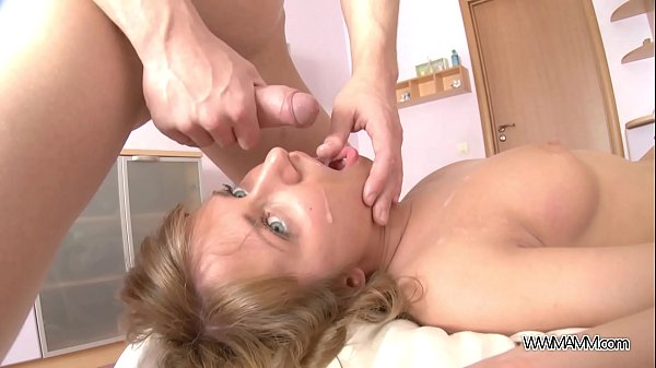 Cute Teen Handles a Big Cock and Swallows Every Drop of Spunk