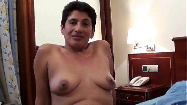 The hotel cleaning lady is a widow but she loves to get full of young cocks Thumb