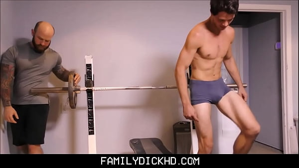 Bear Father And Jock Son Workout Fuck