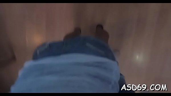 Naughty oriental slut in a hot action Thumb
