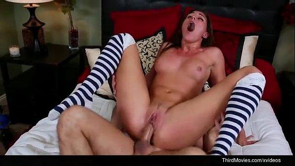 Rilynn Rae fucked in stripped socks Thumb