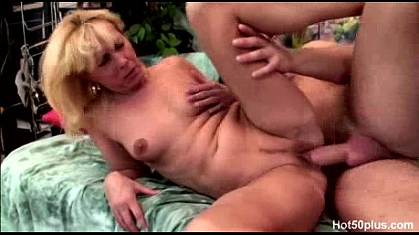 Koko - 50  old blonde mature and her young lover Thumb