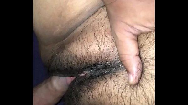 Mature Mexican enjoying big young cock