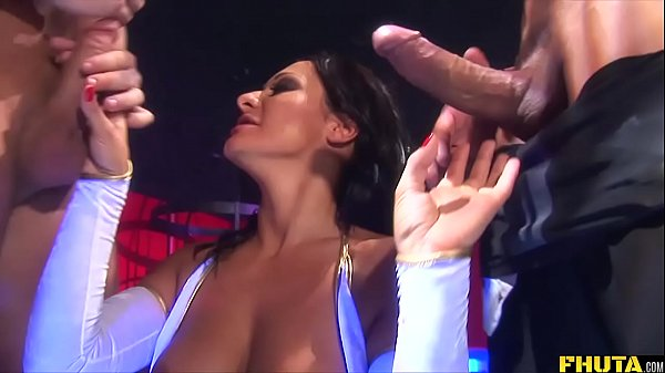 Double Anal For Space Kitten Sandra Romain Thumb