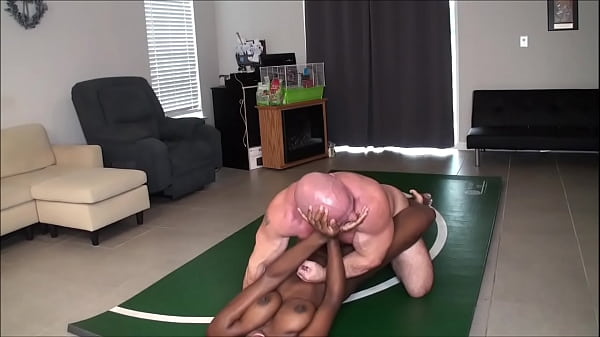 Paris vs Tony Nude Wrestling