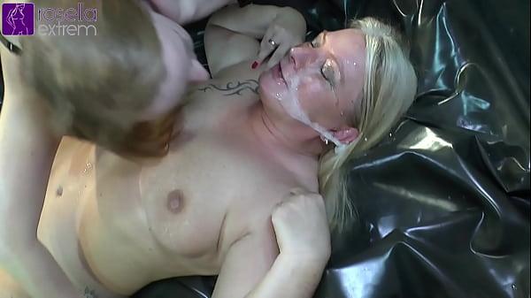 Unique, Kinky, extreme pervert! 2 Mega dirty sluts in action! Thumb