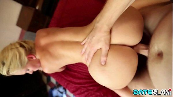 Date Slam – Big ass blonde fucks on first date