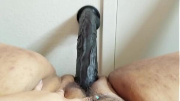 BBW stuffing pussy