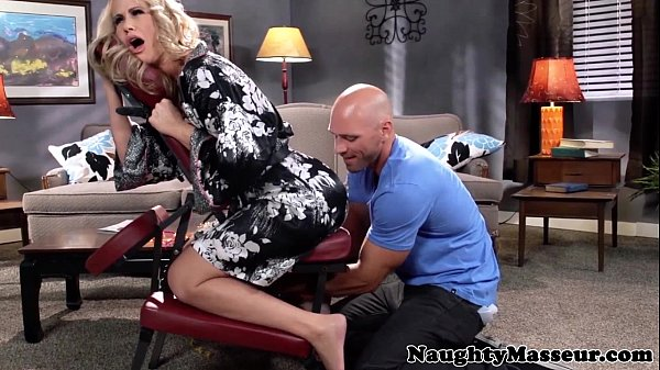 Massaged milf Simone Sonay swallows cum Thumb