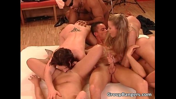 Intense Gagn Bang Sex With Group