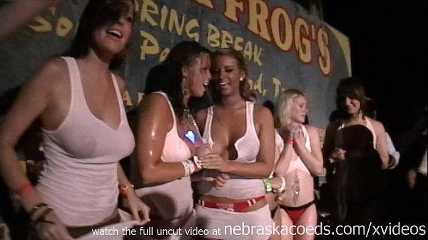 wet tshirt contest tequila frogs texas