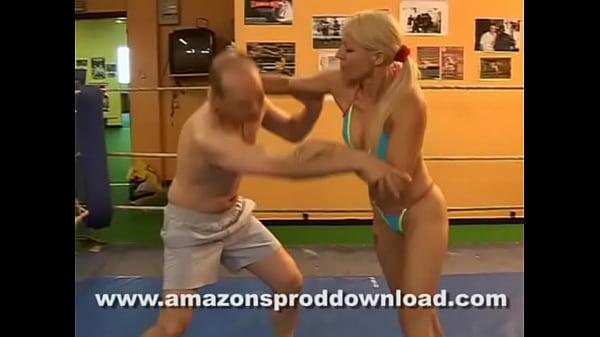 FRENCH MIXED WRESTLING - AMAZON'S PROD WRESTLING